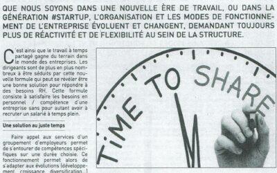 Le temps partagé, une solution d'avenir !