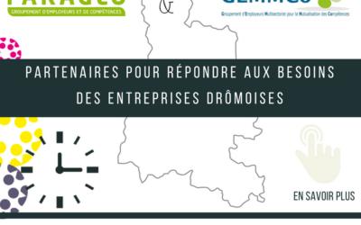 Rapprochement de GEMMCO pour répondre aux besoins des entreprises Drômoises