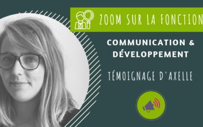 Claire – Communication & développement