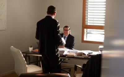 Jean Pascal C. associé d'un cabinet d'avocats en droit des affaires