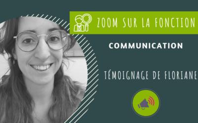 Floriane – Chargée de communication et graphiste
